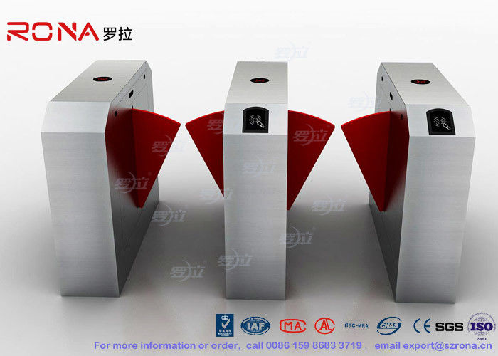 Dual Channel Automation Flap Barrier Gate Fast Lane Gate Access Control Systems