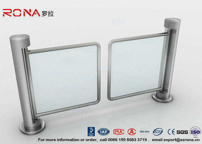 Unidirectional Swing Gate Turnstile 304 stainless steel 500mm Passage Width CE Approval